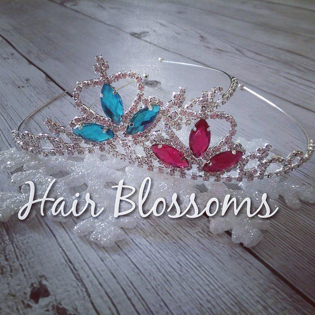 Princess Crowns available starting November 29th!  #HairBlossoms #ShopSmall