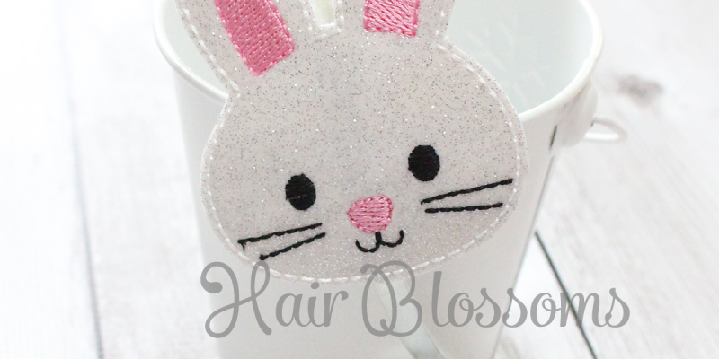 Pink Easter Bunny Blossom Band